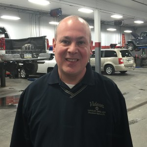 Service Manager John Taylor